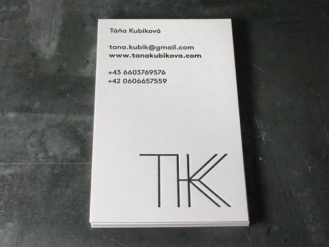 Visitenkarten Letterpress Buchdruck Baumwollpapier Heidelberger Tiegel Wien