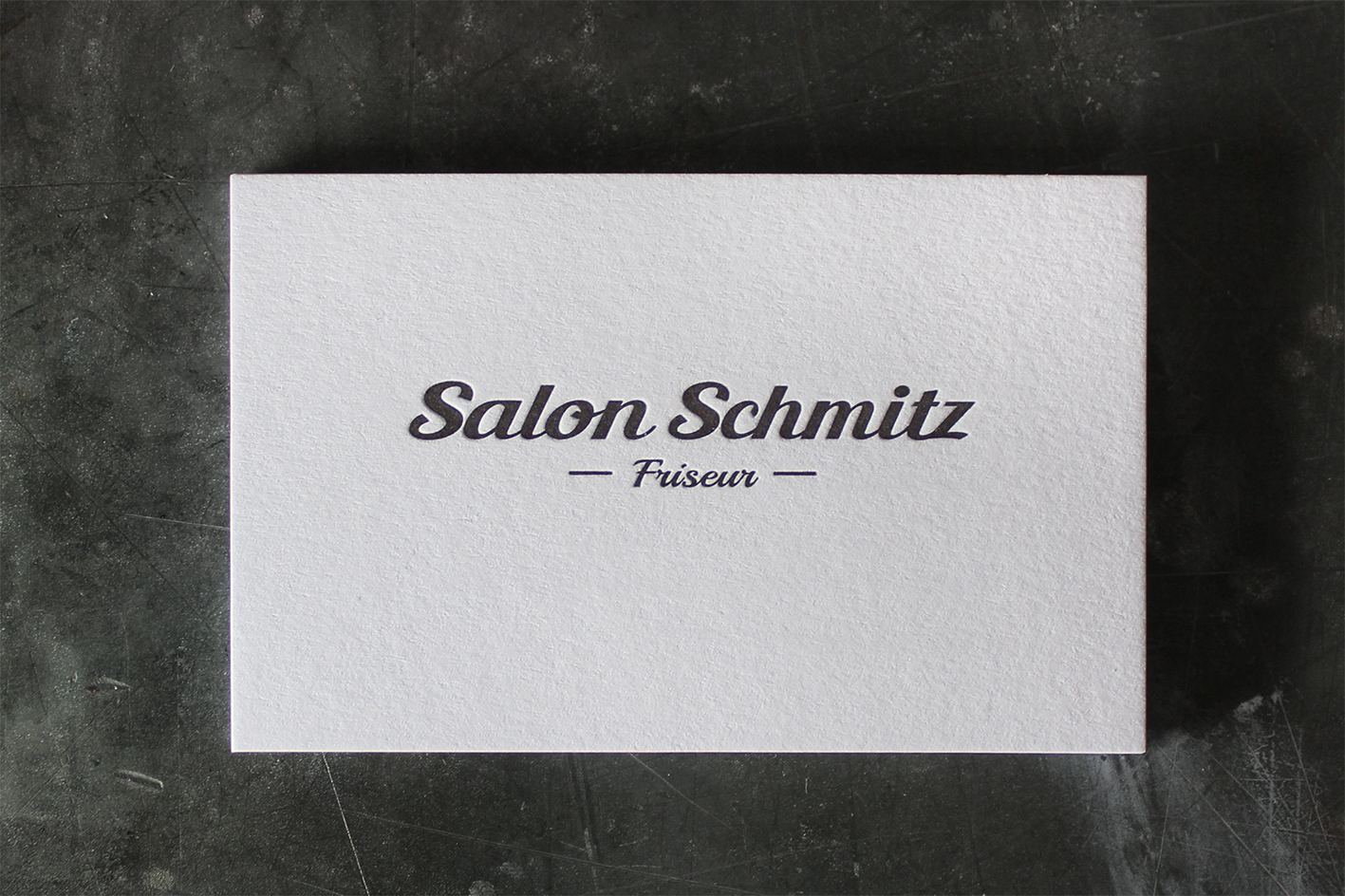 Visitenkarten Letterpress Buchdruck