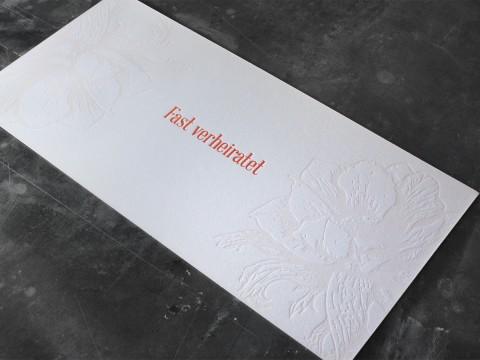 LangDin Hochzeit Wedding Letterpress Buchdruck Heiraten Hochzeit Baumwollpapier Baumwollkarton Wedding Planner