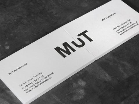 Letterpress Visitenkarten Baumwollpapier Buchdruck Wien