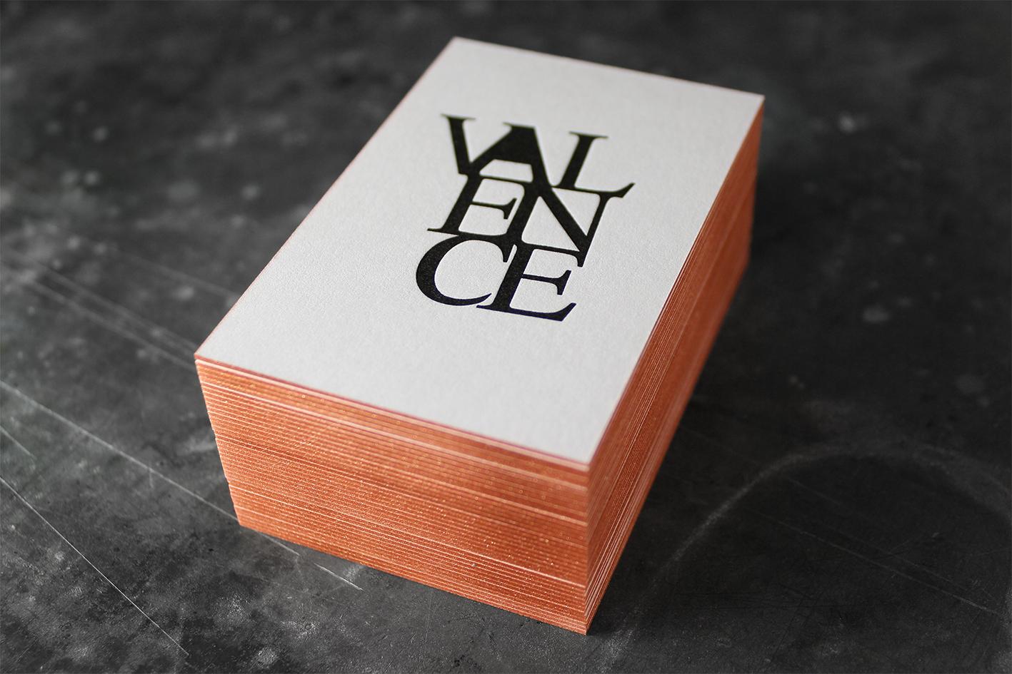 Baumwollpapier Letterpress Buchdruck Farbschnitt Goldschnitt Metallic Visitenkarten Wien Heidelberger Tiegel