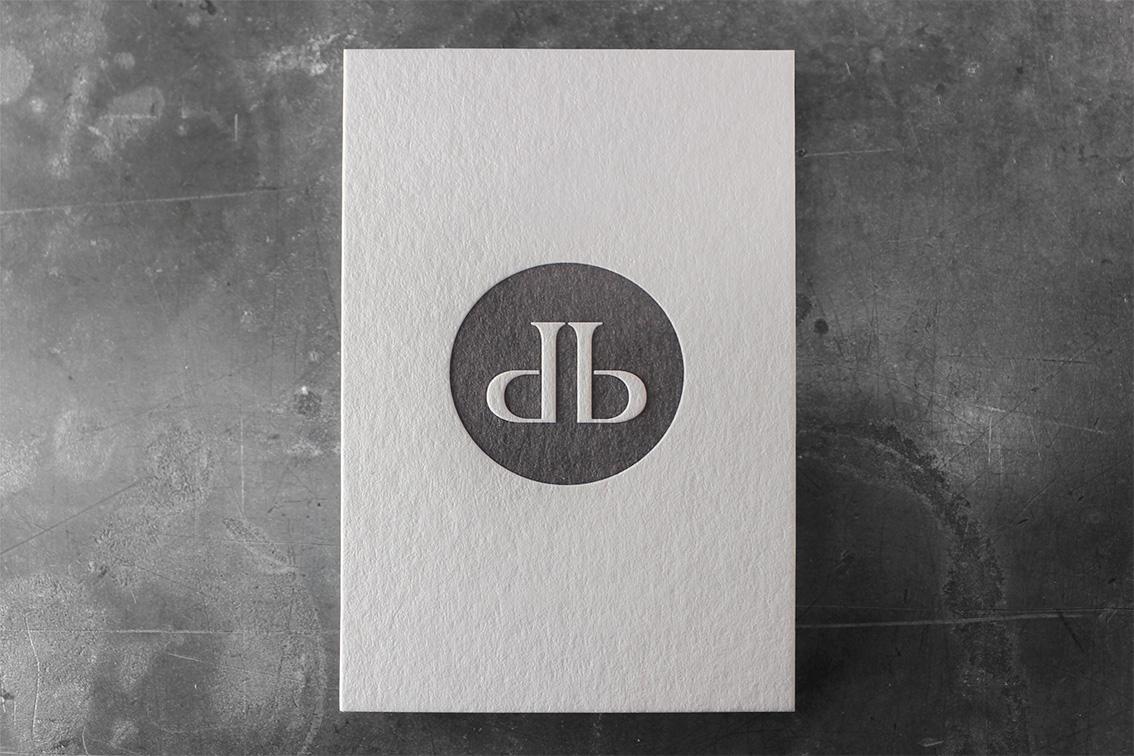 Visitenkarten Prägedruck Tiefprägung Letterpress Buchdruck hochwertig Wien Druckerei
